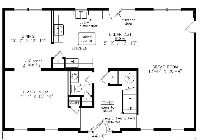Arlington iii 2415 square foot two story floor plan for Share builders plan