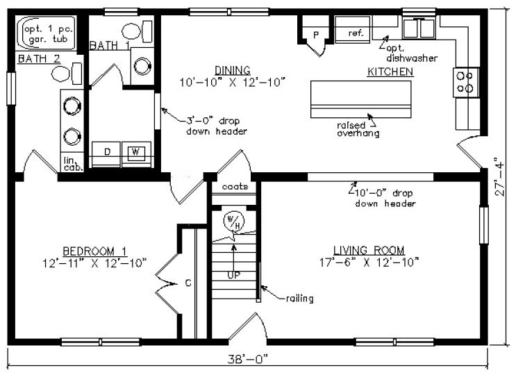 Pittsylvania i 1558 square foot cape floor plan for Share builders plan