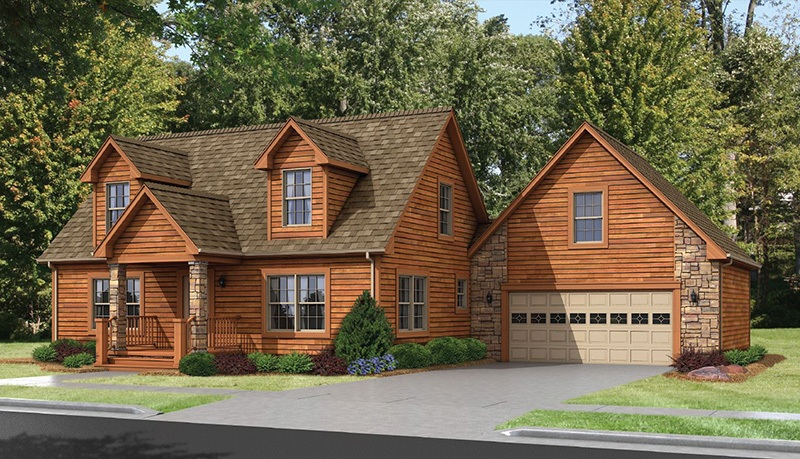 Montana 2508 square foot two story floor plan for Express modular pricing