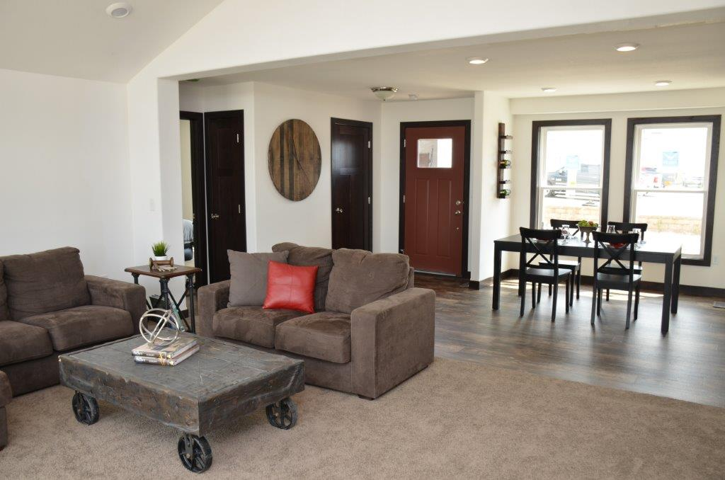 Huntley 1690 square foot ranch floor plan for Express modular pricing